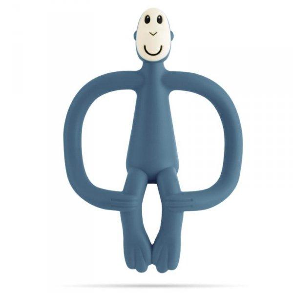 Gryzak Masujący Małpka ze szczoteczką -  ciemno - niebieski