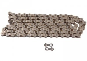 Łańcuch 116 ogn. MTB 6-8b srebrno/brązowy YBN