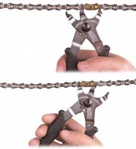 Szczypce do spinania i rozpianania łańcucha / spinki superB