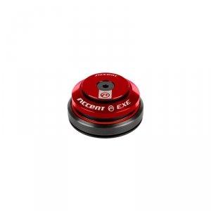 Stery 1 1/8-1,5 ACCENT HI-EXE zintegrowane taper łożyska maszynowe, czerwone