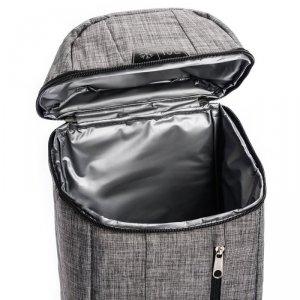 Plecak termiczny METEOR ARCTIC 10L szaro-czarny