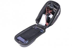 Sakwa na kierownicę PROX NEBRASKA 295 na smartfon 6,4 czarna