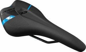Siodełko cross MTB MERIDA COMP CC czarno-niebieskie