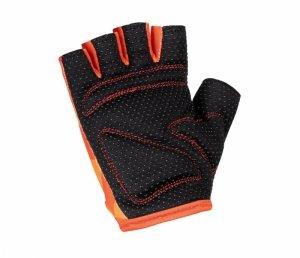 Rękawiczki KELLYS YOGI krótkie, RED neon L