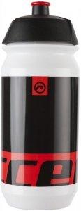 Bidon 0,5L ACCENT PEAK biało-czarno-czerwony