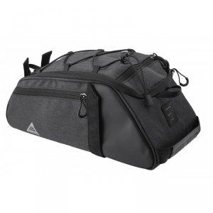 Sakwa na bagażnik VLB 8L,  36x15x15cm + pasek, czarno-grafit