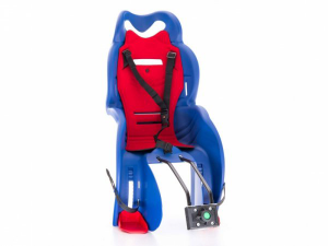 Fotelik rowerowy dla dziecka SANBAS pod siodło niebieski