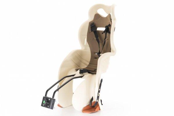 Fotelik na rower dla dziecka SANBAS pod siodło beżowy