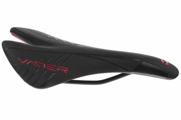 Siodełko szosa 270x140mm VADER VD1141-10 czarno-czerwone