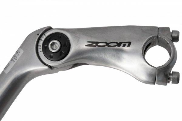 Wspornik kier. aluminiowy regulowany ZOOM MTS-C397 25,4 x180mm, kier 25,4mm, srebrny