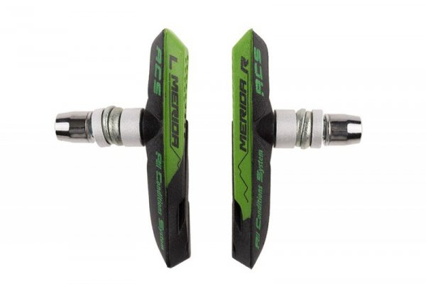 Klocki hamulca Merida GREEN CONTROL V-BRAKE 2 panelowe BS-MD019