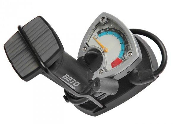 Pompka podłogowa nożna BETO CFT-003 z manometrem