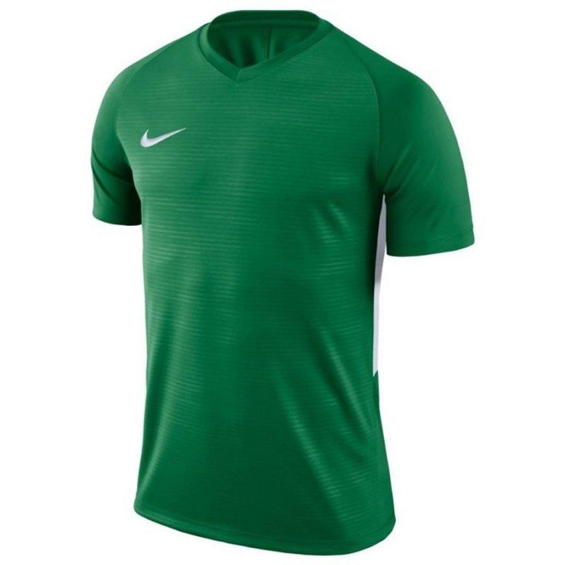 Koszulka Nike Y Tiempo Premier JSY SS 894111 302 zielony XL (158-170cm)