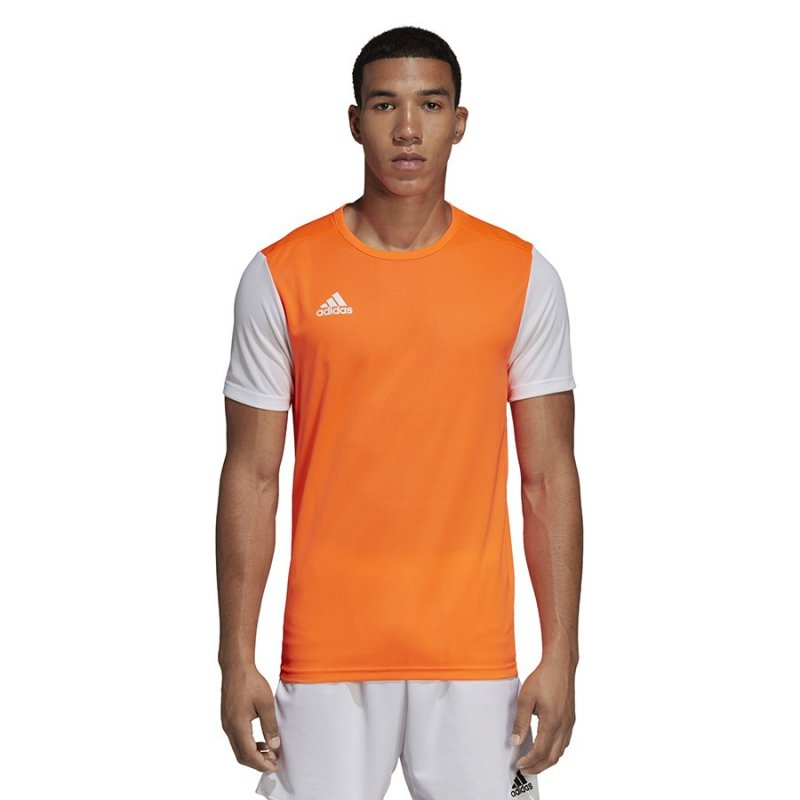 Koszulka adidas Estro 19 JSY DP3236 pomarańczowy 128 cm