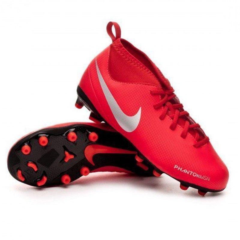 Buty Nike JR Phantom VSN Club DF FG AO3288 600 czerwony 38