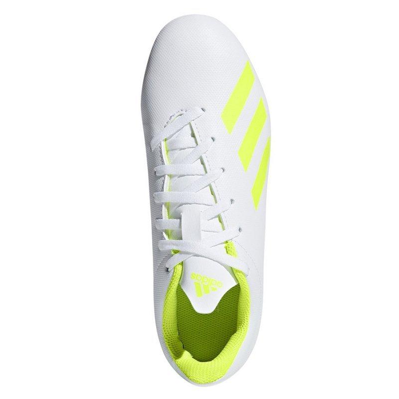 Buty adidas X 18.4 FxG J BB9380 biały 36 2/3