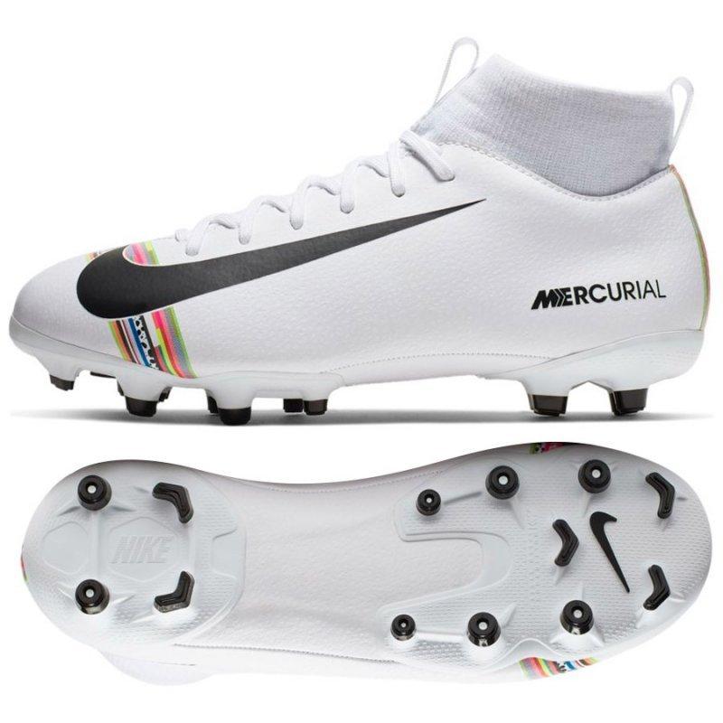 Buty Nike JR Mercurial Superfly 6 Academy GS CR7 AJ3111 109 biały 36 1/2