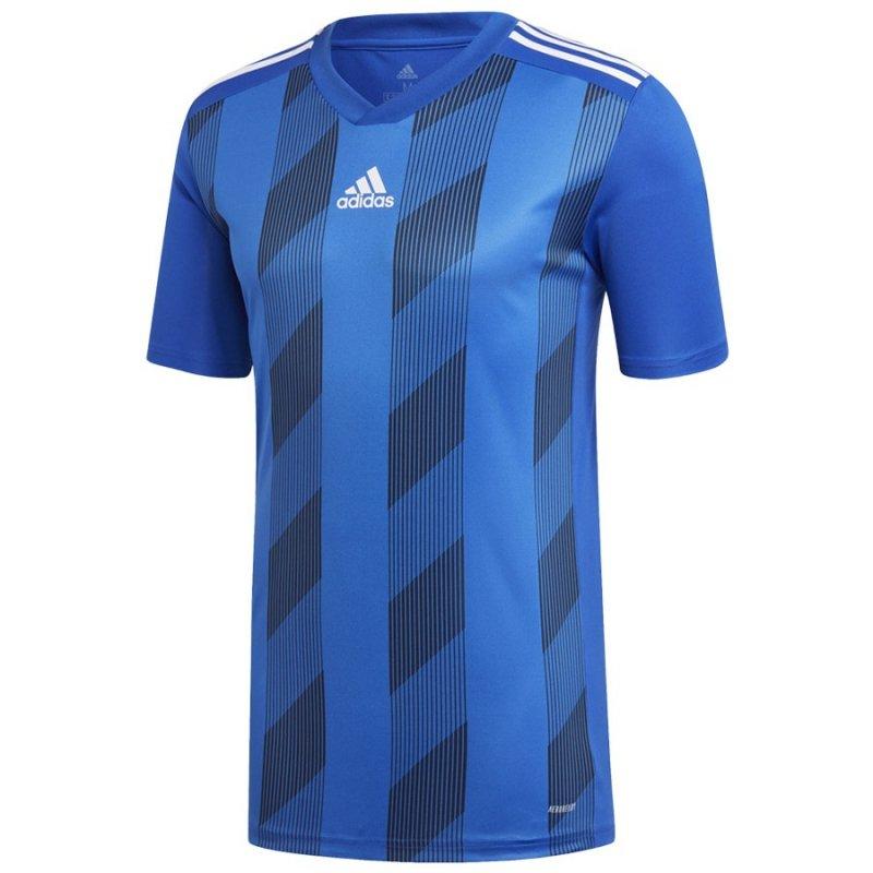 Koszulka adidas Striped 19 JSY DP3200 niebieski L