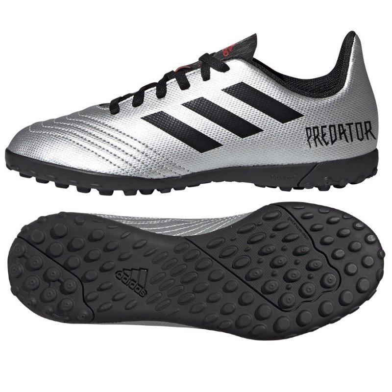 Buty adidas Predator 19.4 TF J G25825 szary 38