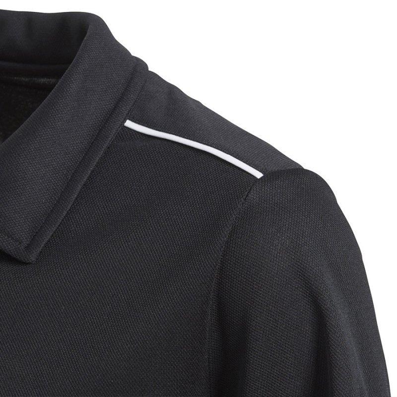 Koszulka adidas Polo Core 18 Y CE9038 czarny 128 cm
