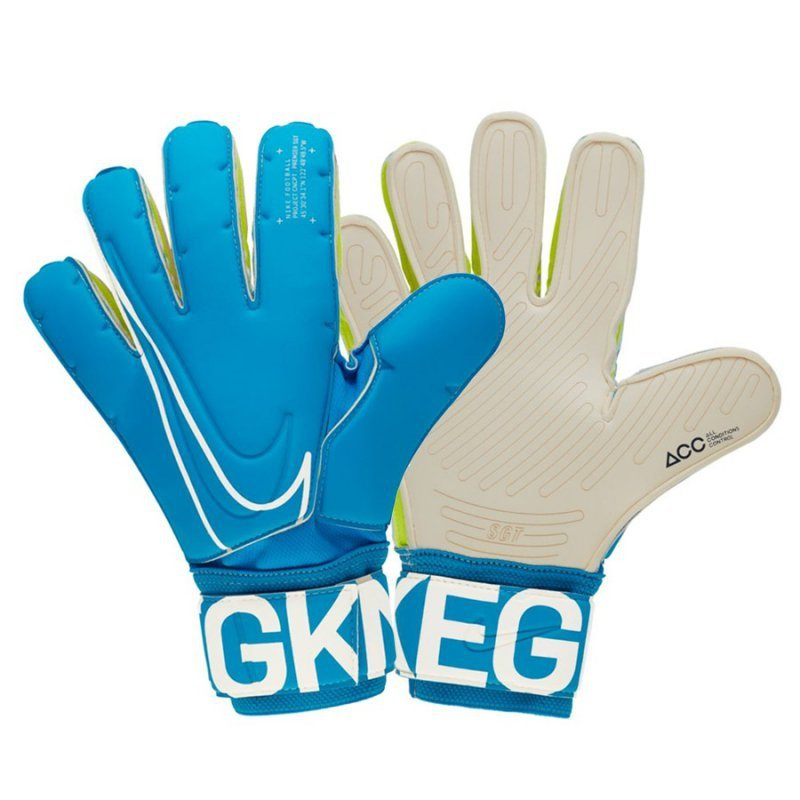 Rękawice Nike GK SGT Premier GS0387 430 niebieski 10