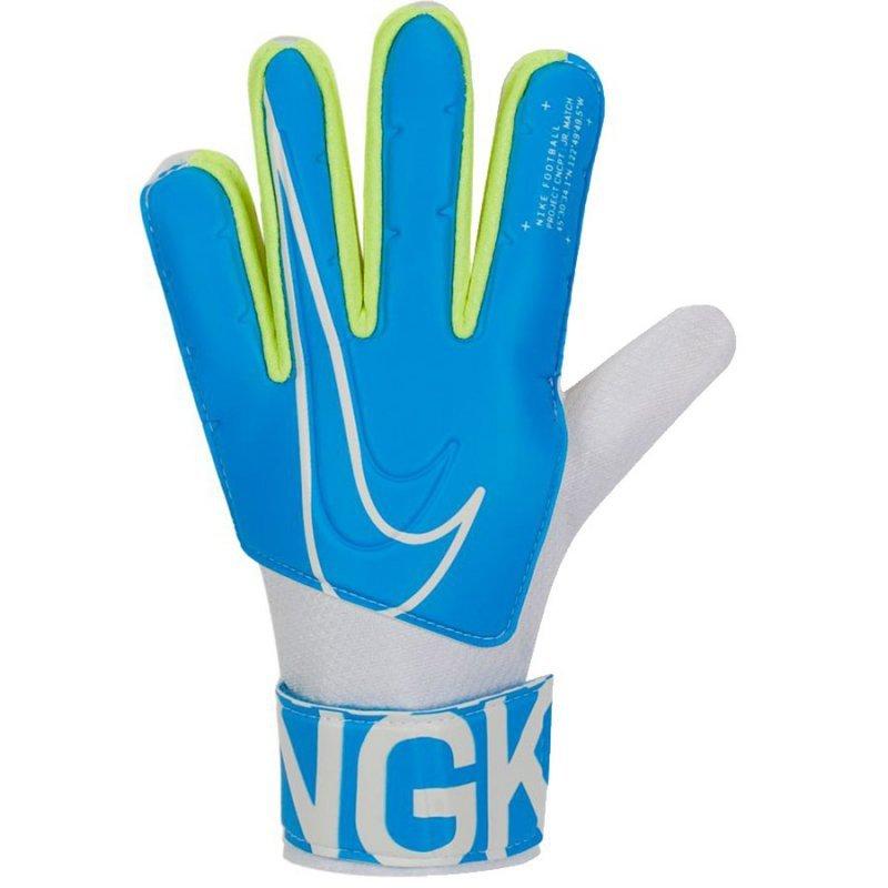 Rękawice Nike GK Match JR FA19 GS3883 486 niebieski 3