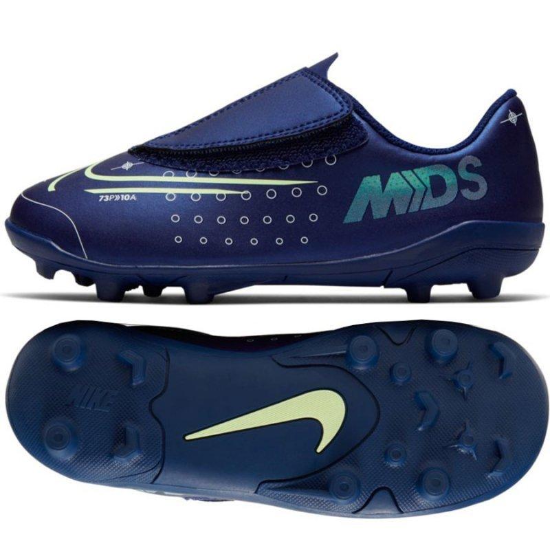 Buty Nike JNR Mercurial Vapor 13 Club MDS MG PS (V) CJ1149 401 niebieski 25