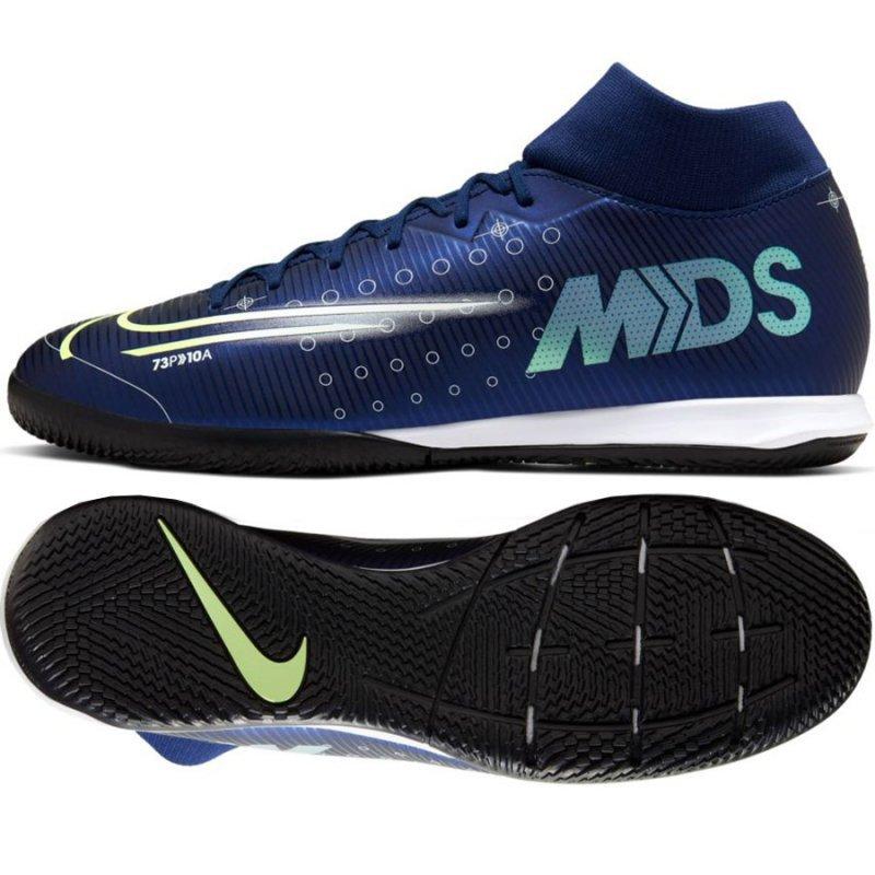 Buty Nike Mercurial Superfly 7 Academy MDS IC BQ5430 401 niebieski 44