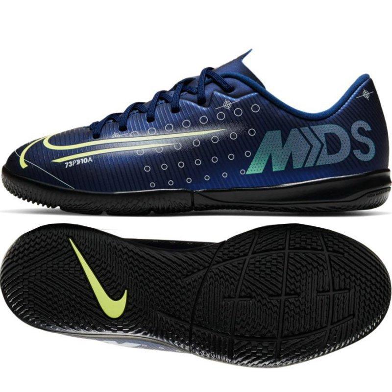 Buty Nike JR Mercurial Vapor 13 Academy MDS IC CJ1175 401 niebieski 36