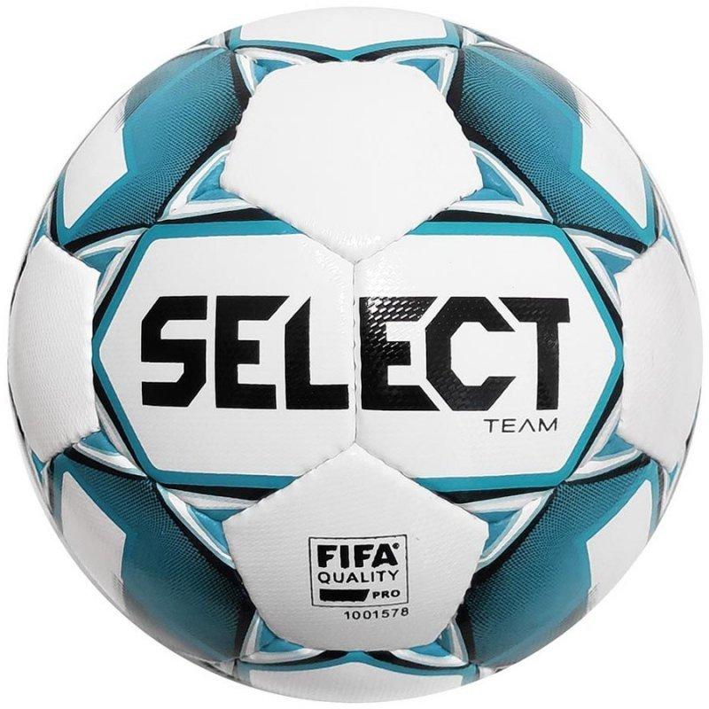 Piłka Select Team FIFA Pro 3675546002 biały 5