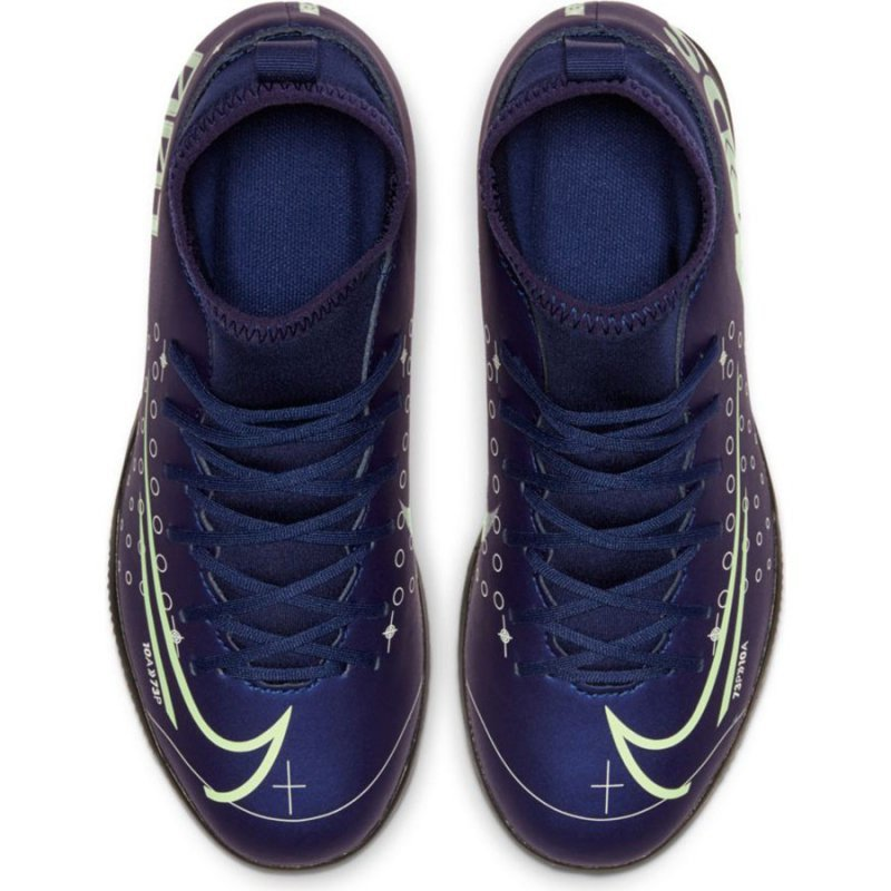 Buty Nike JR Mercurial Superfly 7 Club MDS IC BQ5417 401 niebieski 36