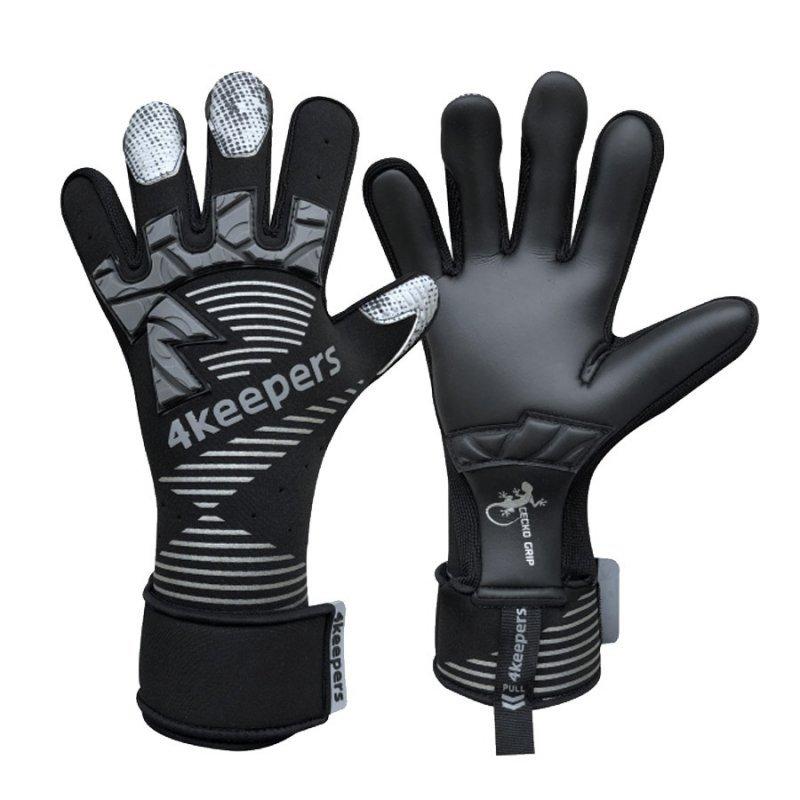 Rękawice 4keepers Gecko Maspis MNC + płyn czyszczący czarny 9,5
