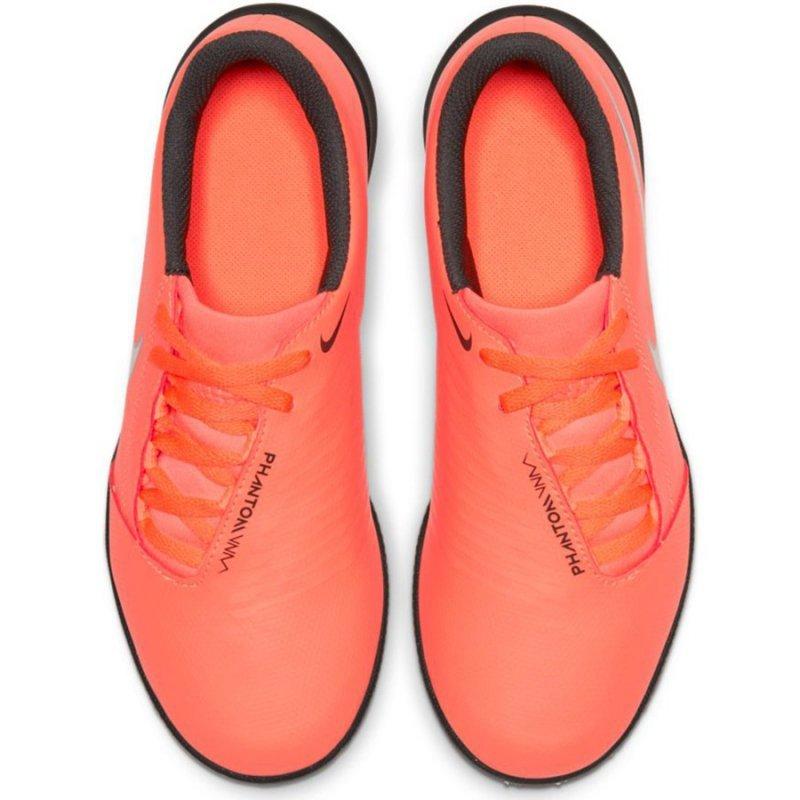 Buty Nike JR Phantom Venom Club TF AO0400 810 pomarańczowy 36 1/2