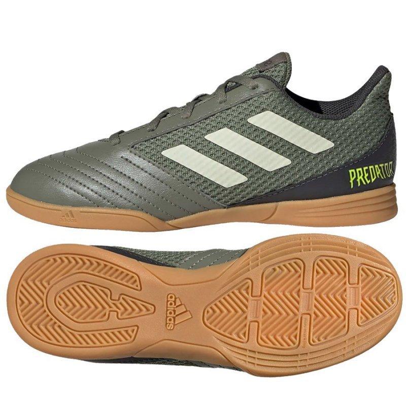 Buty adidas Predator 19.4 IN Sala J EF8224 zielony 31