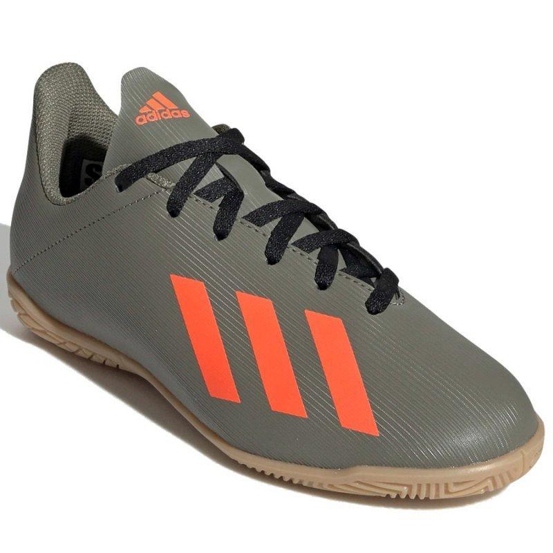 Buty adidas X 19.4 IN J EF8379 zielony 37 1/3