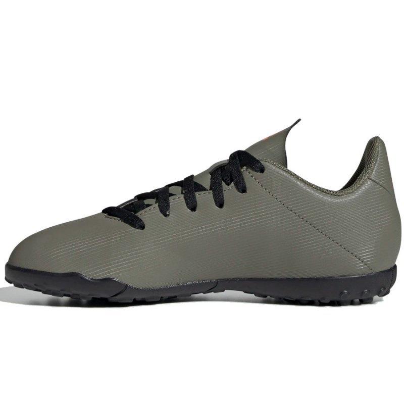 Buty adidas X 19.4 TF J EF8378 zielony 36 2/3