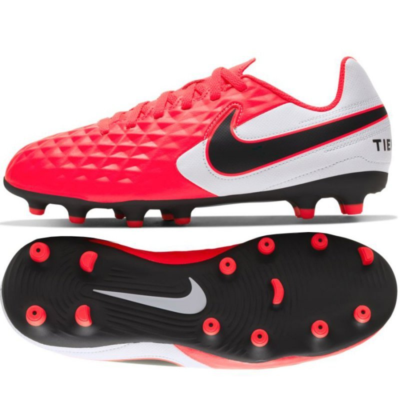 Buty Nike JR Tiempo Legend 8 Club AT5881 606 czerwony 37 1/2