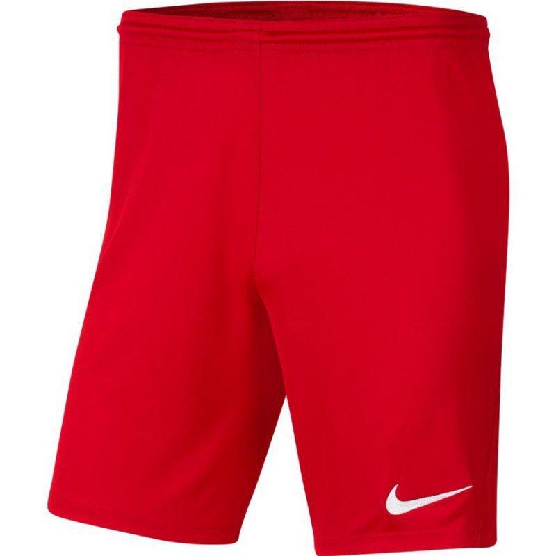 Spodenki Nike Park III BV6855 657 czerwony S