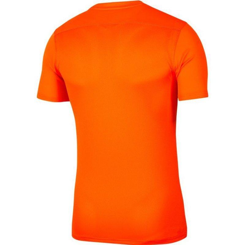 Koszulka Nike Park VII Boys BV6741 819 pomarańczowy L (147-158cm)