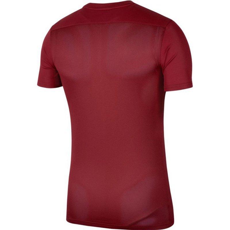 Koszulka Nike Park VII Boys BV6741 677 czerwony XS (122-128cm)