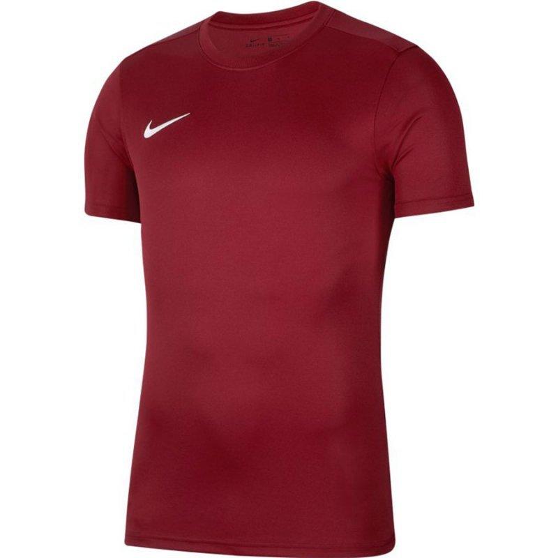 Koszulka Nike Park VII Boys BV6741 677 czerwony L (147-158cm)