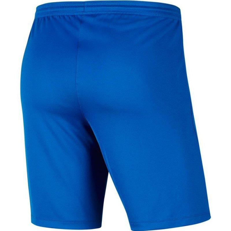 Spodenki Nike Y Park III Boys BV6865 463 niebieski L (147-158cm)