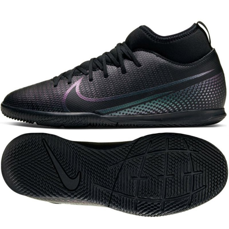Buty Nike JR Mercurial Superfly 7 Club IC AT8153 010 czarny 33