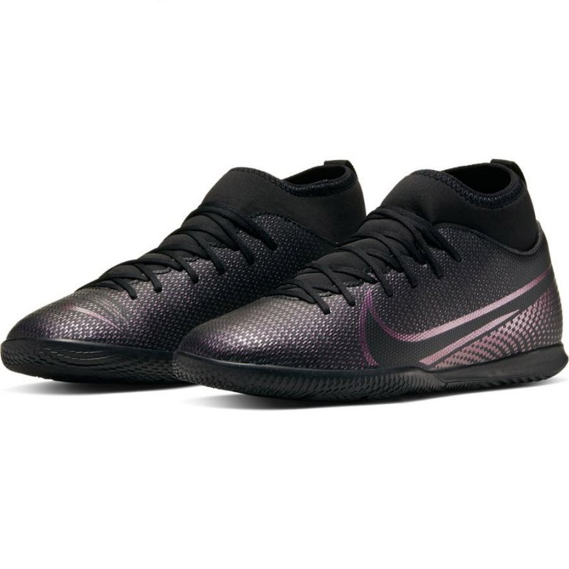 Buty Nike JR Mercurial Superfly 7 Club IC AT8153 010 czarny 36