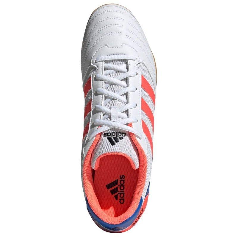 Buty adidas Super Sala IN FV2560 biały 42