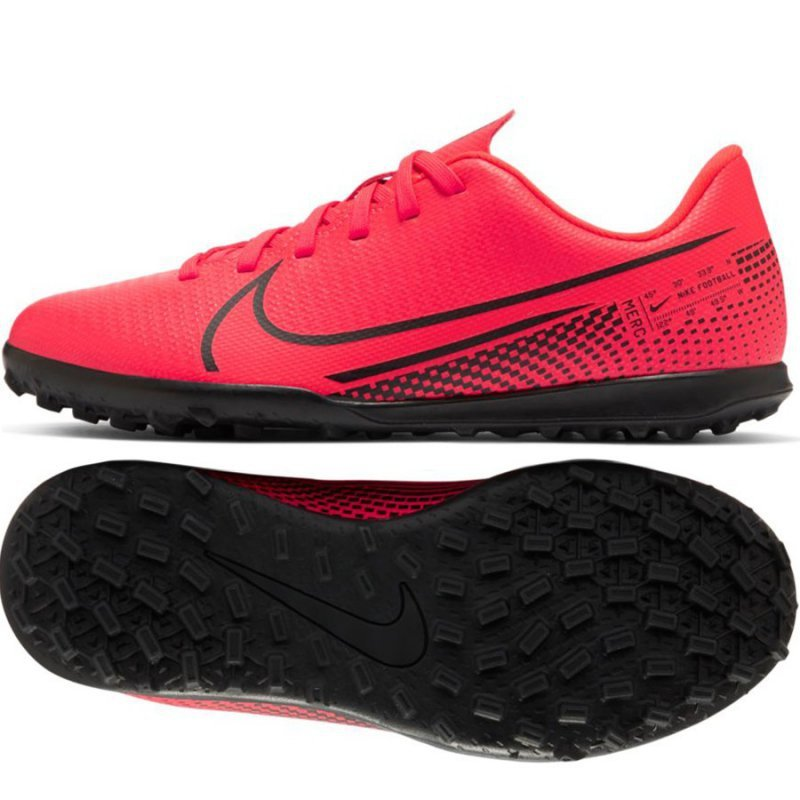 Buty Nike JR Mercurial Vapor 13 Club TF AT8177 606 czerwony 38 1/2