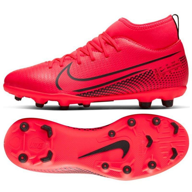 Buty Nike JR Mercurial Superfly 7 Club FG/MG AT8150 606 czerwony 38 1/2