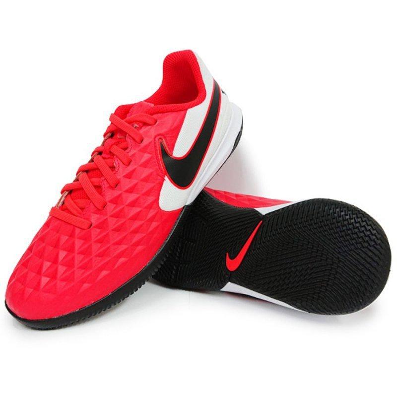 Buty Nike JR Tiempo Legend 8 Academy IC AT5735 606 czerwony 38