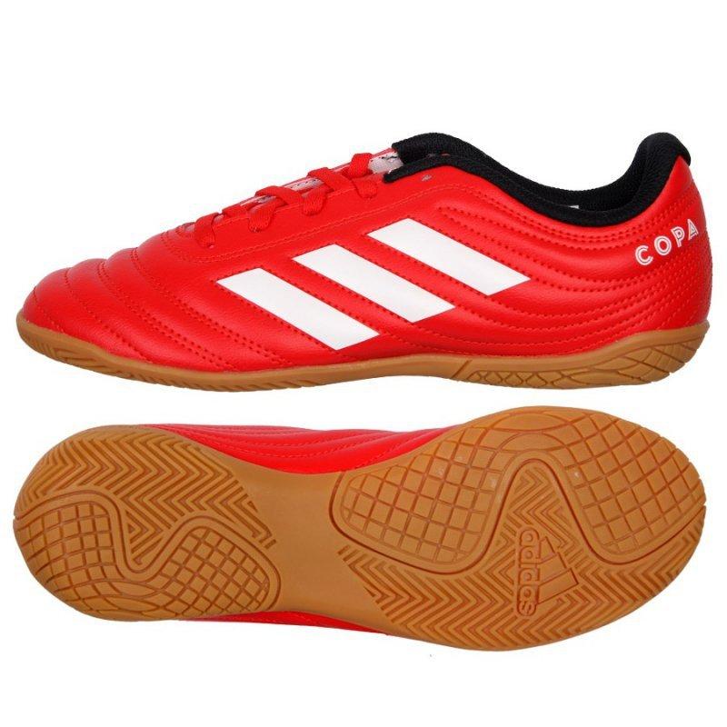 Buty adidas Copa 20.4 IN J EF1928 czerwony 38