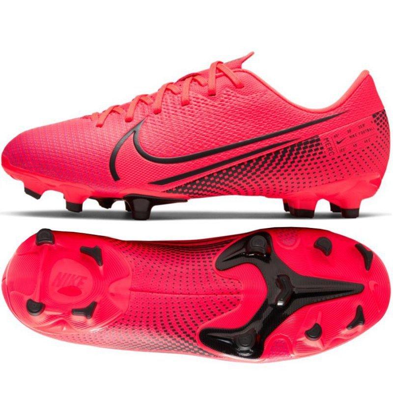 Buty Nike JR Mercurial Vapor 13 Academy FG/MG AT8123 606 czerwony 36